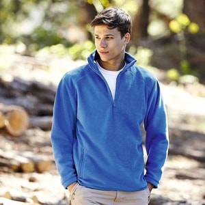 Fruit of the Loom SC2532C - Outdoor Fleece Met Halve Rits (62-512-0)