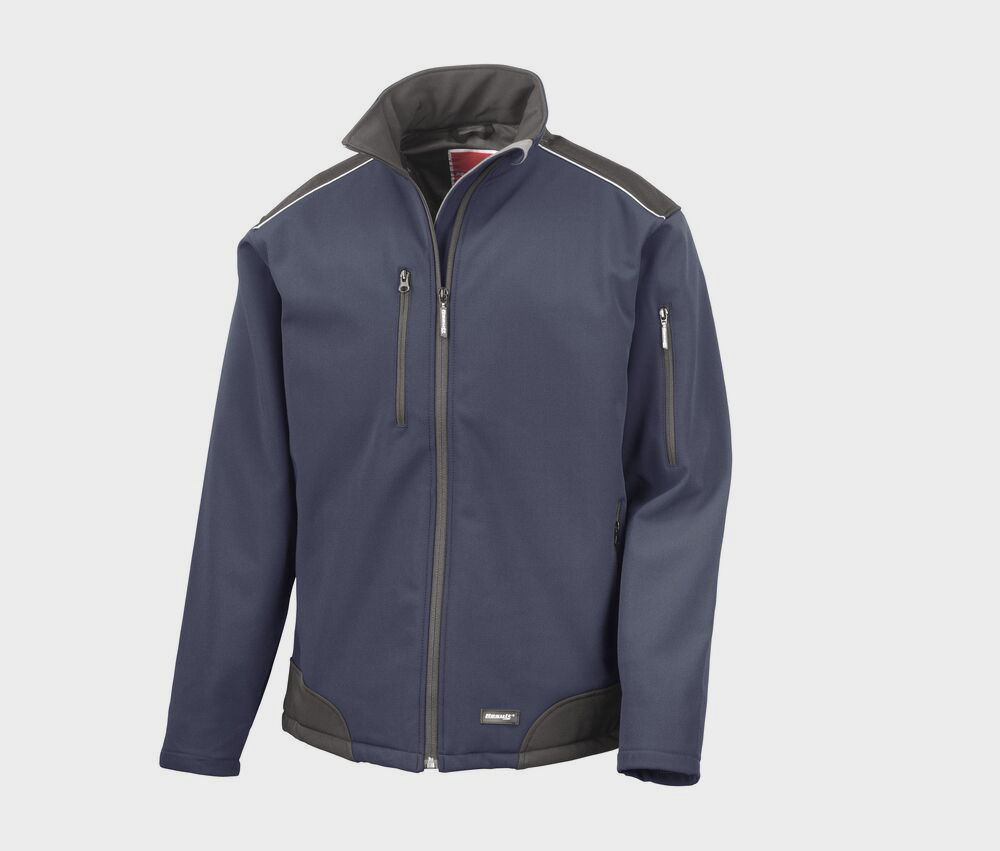 Result R124 - Ripstop Softshell Workwear Jack