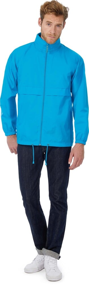 chaqueta impermeable hombres