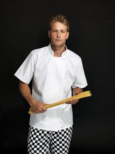 Premier PR656 - SHORT SLEEVE CHEFS JACKET