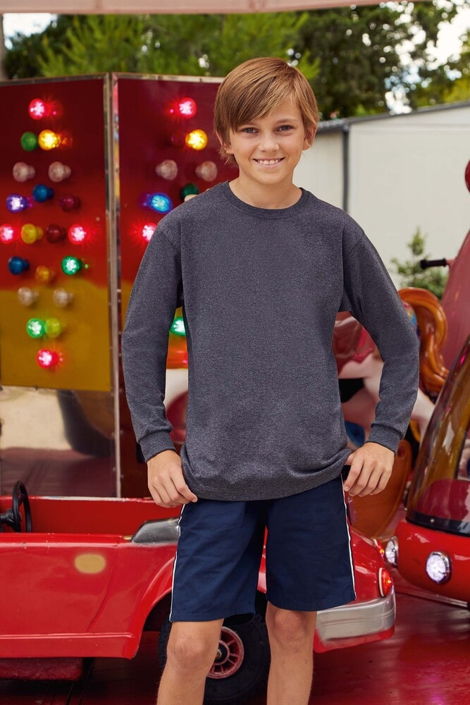 Fruit of the Loom SC61007 - KIDS VALUEWEIGHT LONG SLEEVE (61-007-0)