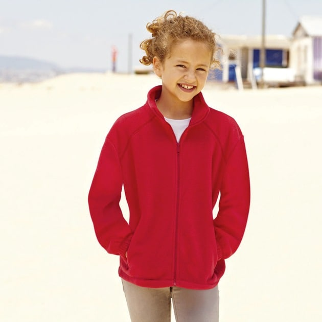 Fruit of the Loom SC2523C - Kids` Fleece Jacke