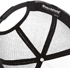 Beechfield B640 - Cappellino con Visiera con Semi Retina