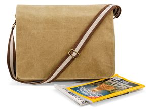 Quadra QD610 - Vintage Canvas Despatch Tas