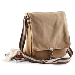 Quadra QD611 - Vintage Canvas Messenger