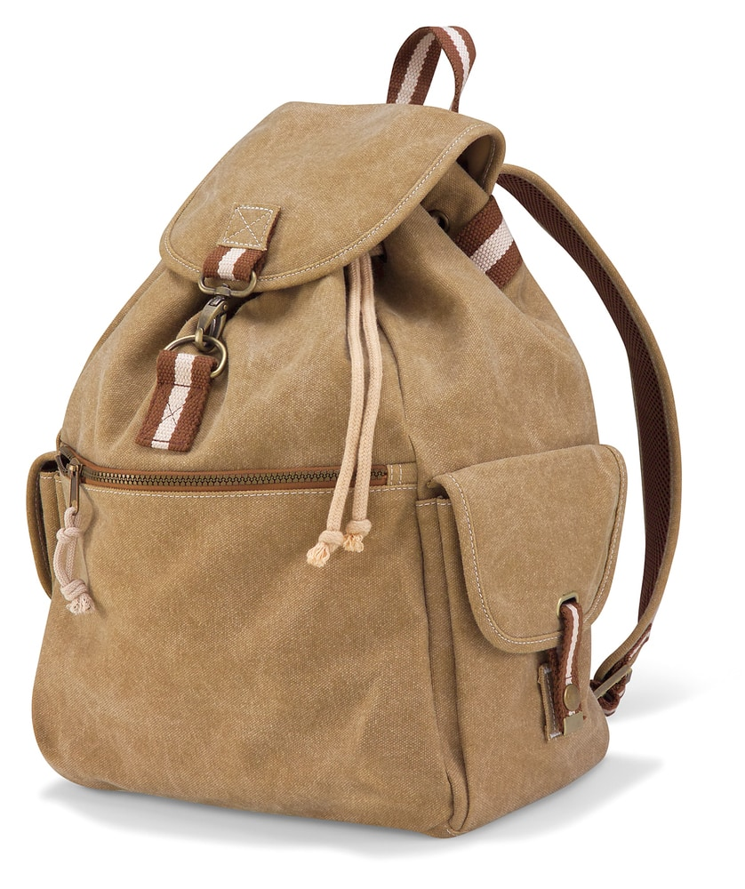 Quadra QD612 - Bolso Backpack en Lona Vintage