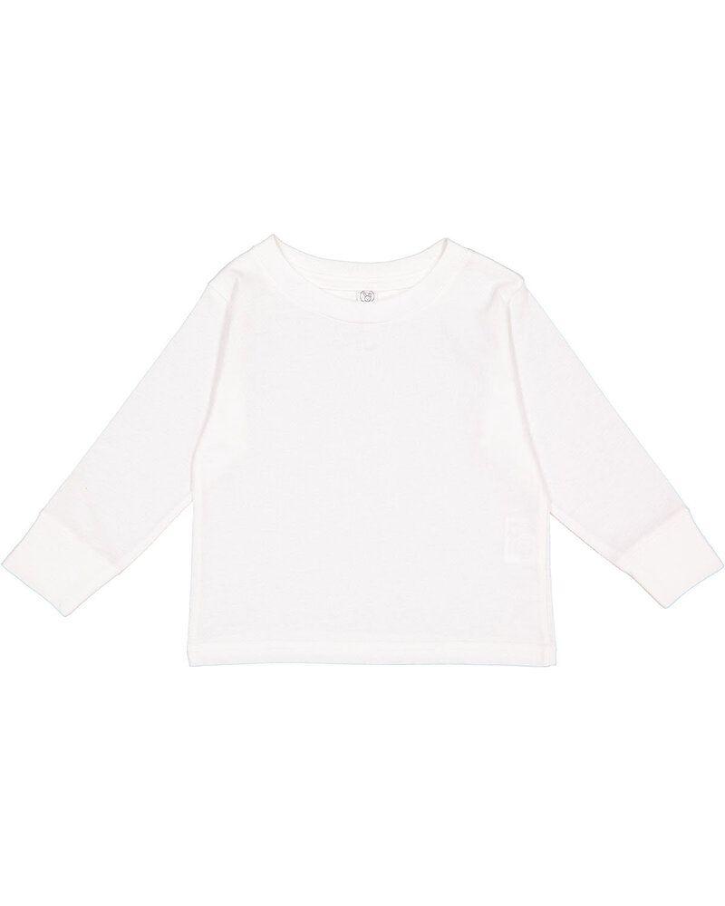 Rabbit Skins 3311 - Toddler 5.5 oz. Jersey Long-Sleeve T-Shirt
