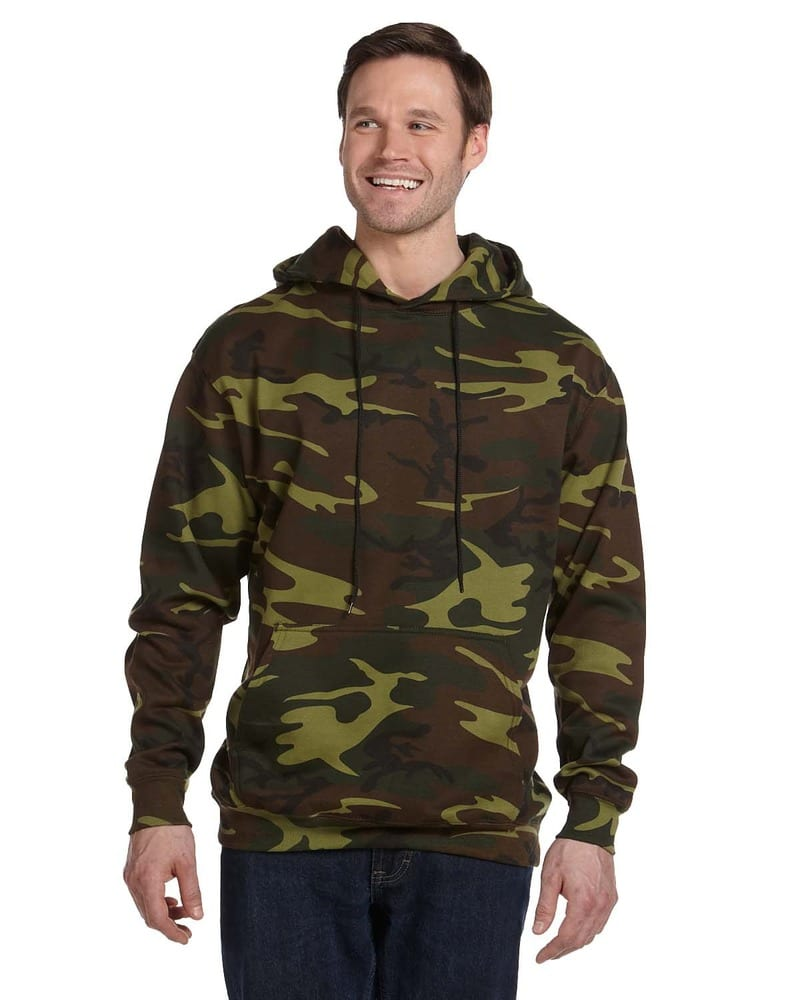 Code Five 3969 - Camouflage Pullover Hooded Sweatshirt