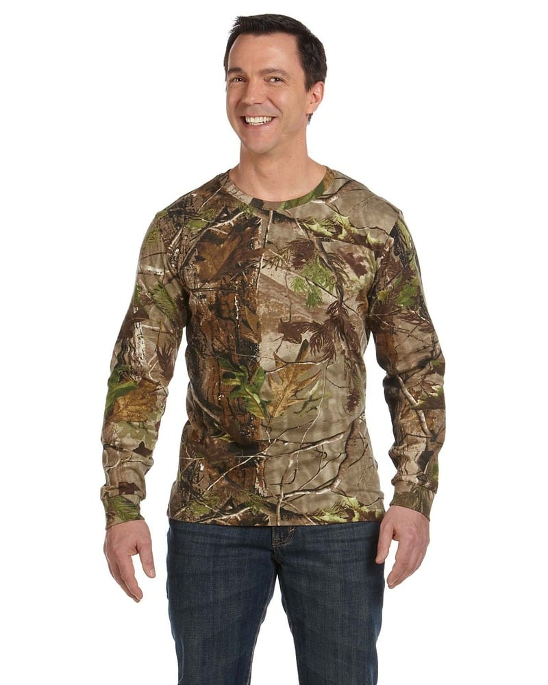 Code Five 3981 - T-shirt camouflage à manches longues sous licence officielle REALTREEMD