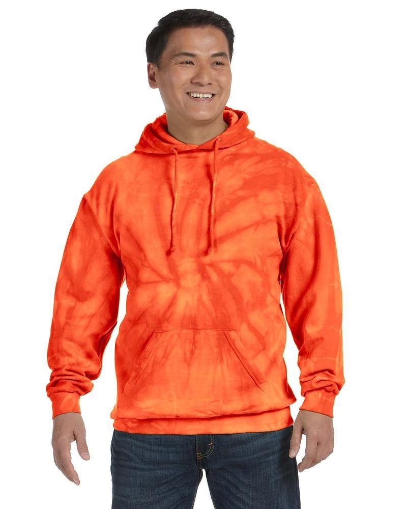 Tie-Dye CD877 - Molleton à capuchon teint noué, 8,5 oz