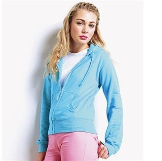 AWDis Hoods JH055 - Sweat-shirt zippé Girlie