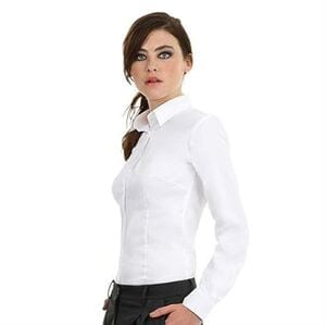 B&C B712F - Camisa Sharp de manga larga