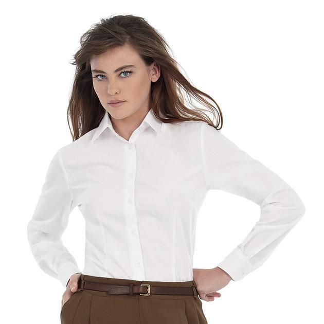 B&C Collection B704F - Smart long sleeve /women