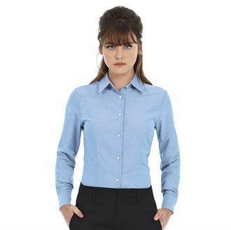 B&C BA707 - Långärmad Oxfordskjorta