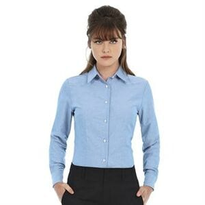 B&C Collection BA707 - Oxford long sleeve /women