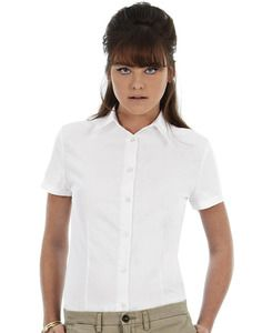 B&C Collection BA709 - Oxford short sleeve/women