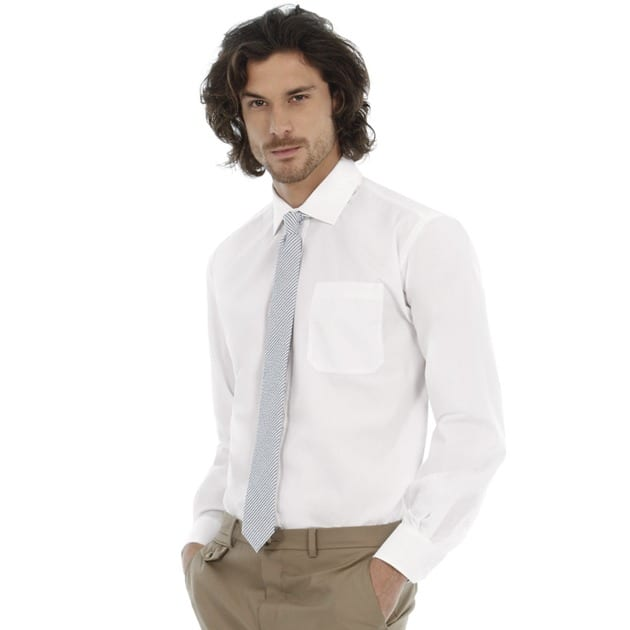B&C Collection BA704 - Smart long sleeve /men