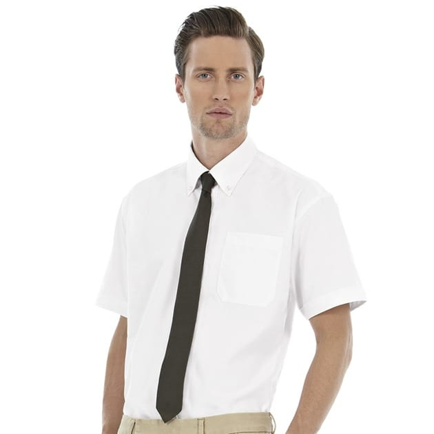 B&C Collection BA708 - Oxford short sleeve /men