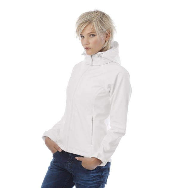 B&C Collection B630F - Hooded softshell /women