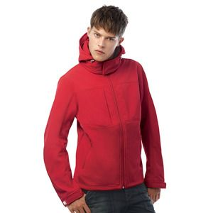 B&C Collection BA630 - Hooded softshell/Homme