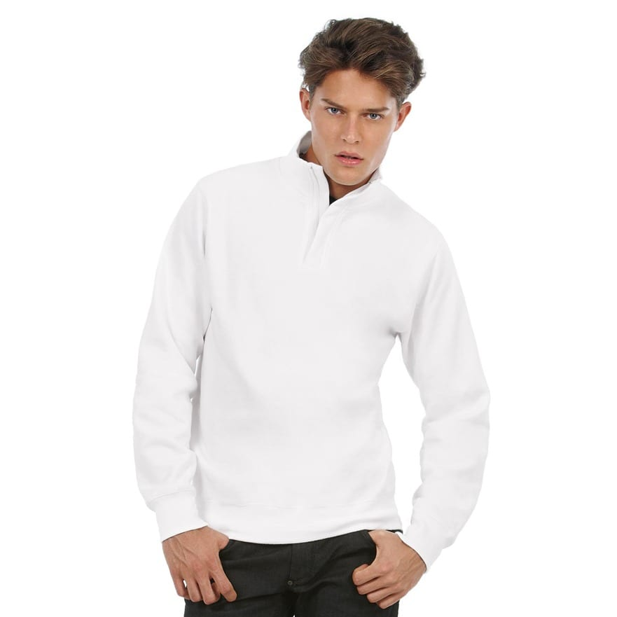B&C Collection BA406 - ID.004 ¼ zip sweatshirt