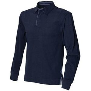 Front Row FR43M - Super soft long sleeve rugby shirt