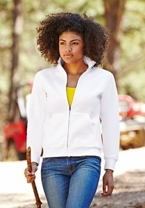 Fruit of the Loom SS310 - Sweat-shirt zippé femme Classic 80/20