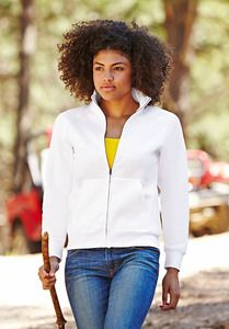 Fruit of the Loom SS310 - Premium 70/30 lady-fit sweat jacket