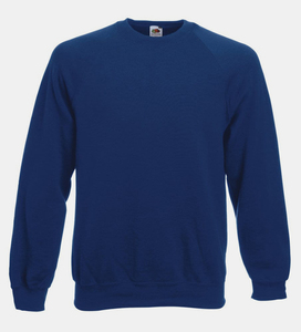 Fruit of the Loom SS270 - Sweatshirt Raglan Gola Redonda