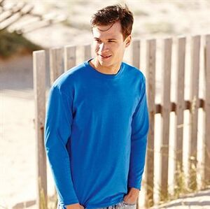 Fruit of the Loom SS032 - T-Shirt Manches Longues Homme Valueweight