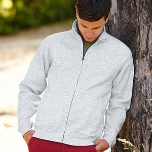 Fruit of the Loom SS226 - Klassische 80/20 Sweatjacke