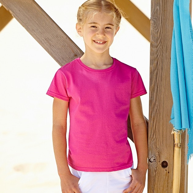 Fruit of the Loom SS005 - T-Shirt Cintré Fille Valueweight
