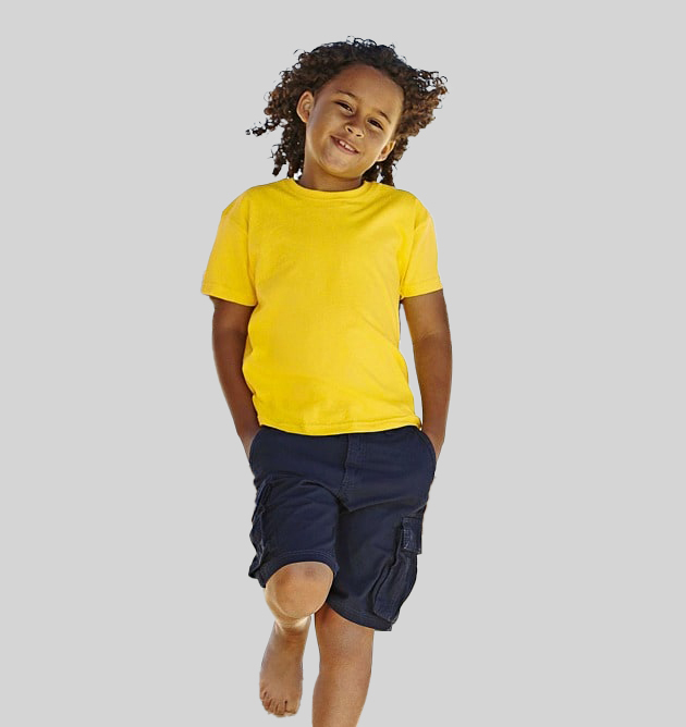 Fruit of the Loom SS031 - Kids valueweight tee