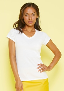 Gildan GD078 - Softstyle ™ dames v-hals t-shirt