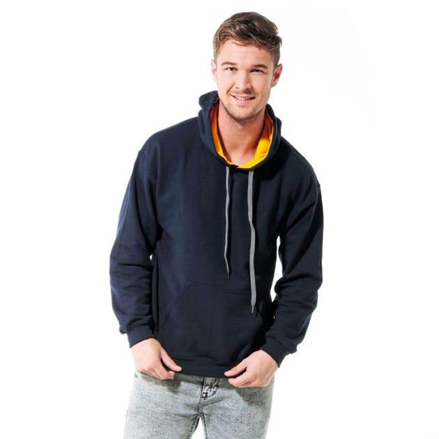 Gildan GD055 - Sweat-shirt à capuche contrasté HeavyBlend™
