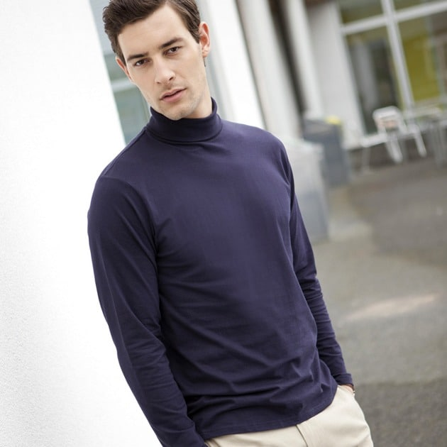 Henbury HB020 - Long sleeve roll neck top