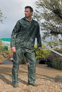 Result RE95A - Heavyweight waterproof jacket/trouser suit