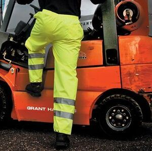 Result Safeguard RE22X - Safety hi-viz trousers (EN471 class 1)