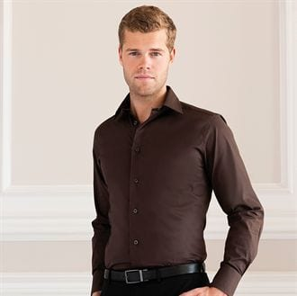 Russell Collection J946M - Long sleeve easycare fitted shirt