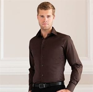 Russell Collection J946M - Camisa de Manga Comprida - Justa - easycare
