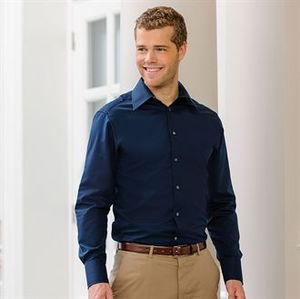 Russell Collection J954M - Long sleeve Tencel® fitted shirt