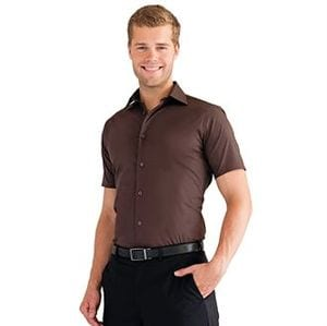 Russell Collection J947M - Short sleeve easycare fitted shirt