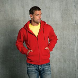 Russell J266M - Authentic zipped hooded sweat