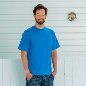 Russell J180M - Super klassiek ringgesponnen t-shirt met ronde hals