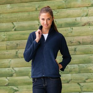 Russell 8700F - Womens full zip outdoor fleece