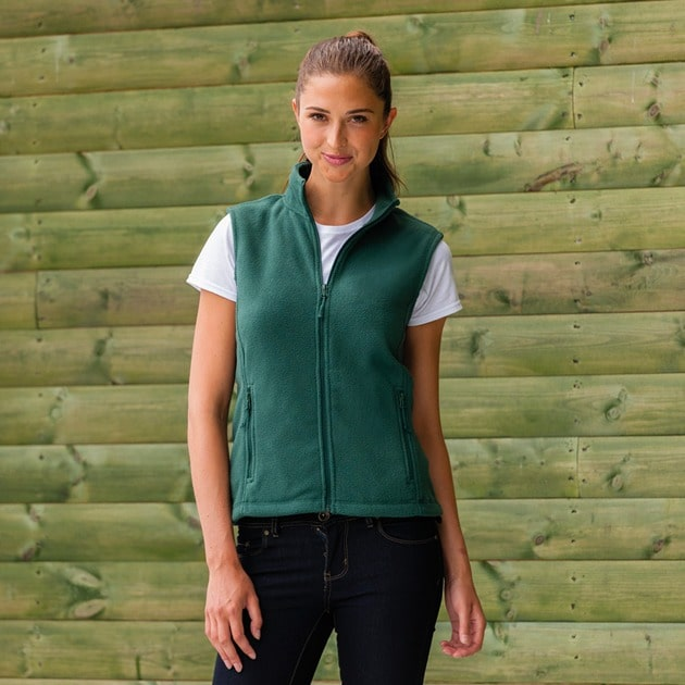 Russell 8720F - Women's outdoor fleece gilet