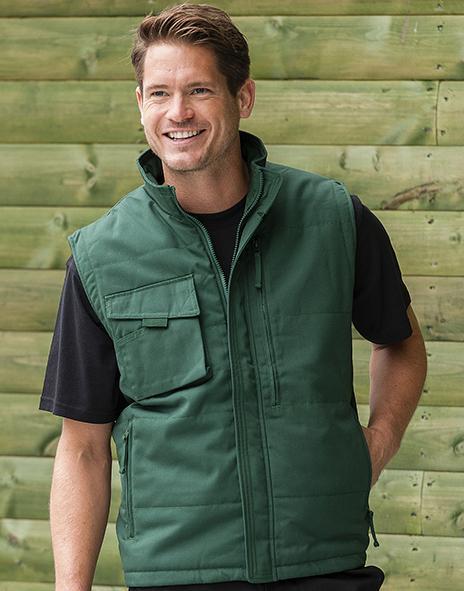 Russell J014M - Colete Laboral Resistente R014M Workwear