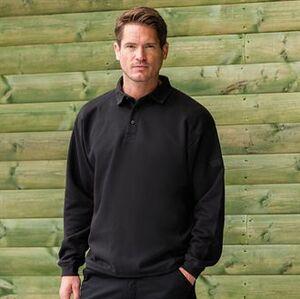 Russell J012M - Heavy duty collar sweatshirt