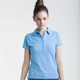 Skinnifit SK042 - Women's short sleeve stretch polo