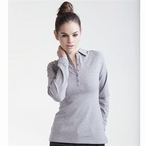 SF SK044 - Womens long sleeve stretch polo